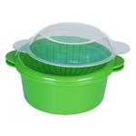 Progressive Prepworks Green Microwavable Mini Steamer