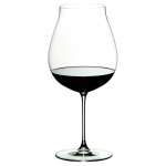 Riedel Veritas Leaded Crystal New World Pinot Noir Wine Glass, Set of 2