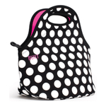 Built NY Gourmet Getaway Big Dot Black and White Lunch Tote