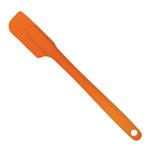 HIC Essentials Cantaloupe Orange Silicone 10 Inch Slim Spatula