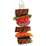 Firewire Stainless Steel Double Prong Barbecue Skewer, 4 Pack