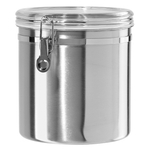 Oggi Stainless Steel Jumbo Clamp Canister