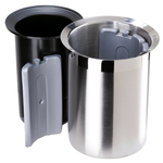 Oggi Stainless Steel Wine Cooler with Freezer Inserts