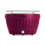 LotusGrill Plum Purple Smokeless Charcoal Grill With Transport Bag