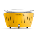 LotusGrill XL Corn Yellow Smokeless Charcoal Grill With Transport Bag