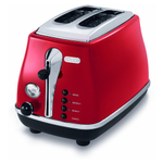 Delonghi Icona Red 2-Slice Toaster