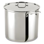 All-Clad Stainless Steel 16 Quart Covered Stockpot
