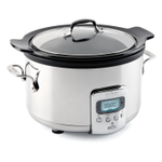 All-Clad Black Ceramic 4 Quart Covered Slow Cooker