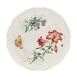Lenox Butterfly Meadow Fritillary Porcelain 10.75 Inch Dinner Plate
