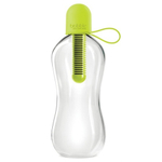 Bobble Standard Lime Filtered Water Bottle with Tether Cap, 18.5 Ounce