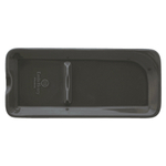 Emile Henry Slate Ceramic 9 x 4 Inch Spoon Rest
