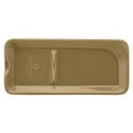 Emile Henry Sand Ceramic 9 x 4 Inch Spoon Rest