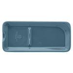 Emile Henry Blue Flame Ceramic 9 x 4 Inch Spoon Rest