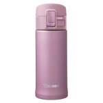 Zojirushi Pink Lavender Stainless Steel 12 Ounce Vacuum Insulated Flip Top Mug