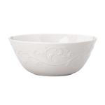 Lenox Opal Innocence Carved White Porcelain All Purpose Bowl