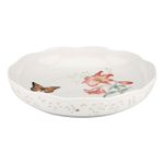 Lenox Butterfly Meadow Porcelain Low Serving Bowl