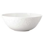 Lenox Opal Innocence Carved White Porcelain Serving Bowl
