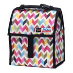 PackIt Freezable Zigzag 8 Inch Lunch Bag