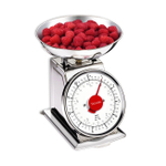 Taylor Retro Style 11 Pound Stainless Steel Kitchen Scale