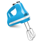 KitchenAid KHM512CL Ultra Power Crystal Blue 5 Speed Hand Mixer