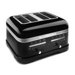 KitchenAid KMT4203OB Pro Line Series Onyx Black 4-Slice Automatic Toaster