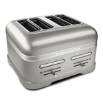 KitchenAid KMT4203SR Pro Line Series Sugar Pearl Silver 4-Slice Automatic Toaster