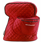 KitchenAid KSMCT1ER Empire Red 100% Cotton Fitted Stand Mixer Cover