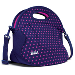 Built NY Spicy Relish Mini Dot Navy Lunch Tote