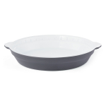 Creo SmartGlass 9 Inch Brooklyn Dark Gray Round Pie Pan