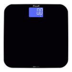 Escali SmartConnect Digital Body Weight Black Tempered Glass Scale