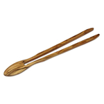 Berard Olive Wood 7 Inch Tongs