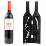 Kikkerland Large Wine Bottle Accessory Kit