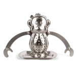 Kikkerland Monkey Stainless Steel Tea Infuser