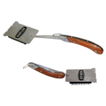 Man Law Stainless Steel Folding Brush