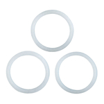 Primula Replacement Silicone Gasket for Stainless Steel 6 Cup Stovetop Espresso Maker, Set of 3