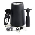Vacu Vin Black 7 Piece Essential Wine Accessory Tool Set