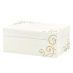 Lenox Scroll 7.5 x 5 Inch Jewelry Box