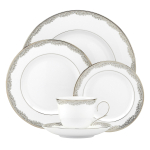 Lenox Bloomfield Bone China 5 Piece Dinnerware Set, Service for 1