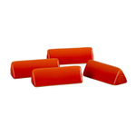 Le Creuset Flame Stoneware Cheese Marker, Set of 4