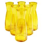 Bormioli Rocco Ypsilon Yellow Glass 18.5 Ounce Jug