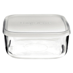 Bormioli Rocco Frigoverre 5 Ounce Rectangle Container with Frosted Lid