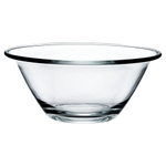 Bormioli Rocco Mr. Chef Tempered Glass 2.7 Quart Multi Purpose Salad Bowl