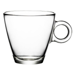 Bormioli Rocco Easy Bar Glass 7.5 Ounce Cappuccino Cup