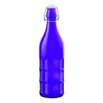 Bormioli Rocco Moresca Purple 33.75 Ounce Glass Bottle