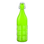 Bormioli Rocco Moresca Green 33.75 Ounce Glass Bottle