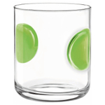 Bormioli Rocco Giove Green DOF 10.5 Ounce Glass