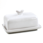 Canvas Home Isola White Butter Dish