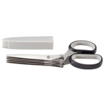 Mercer Stainless Steel 7.6 Inch Herb Scissor with Blade Guard