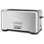 Breville The Bit More Brushed Stainless Steel 4 Slice Toaster