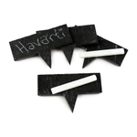 Swissmar Slate Cheese Markers with Chalk 6 Piece Set